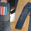 #1070 Sy ett förkläde av gamla jeans!