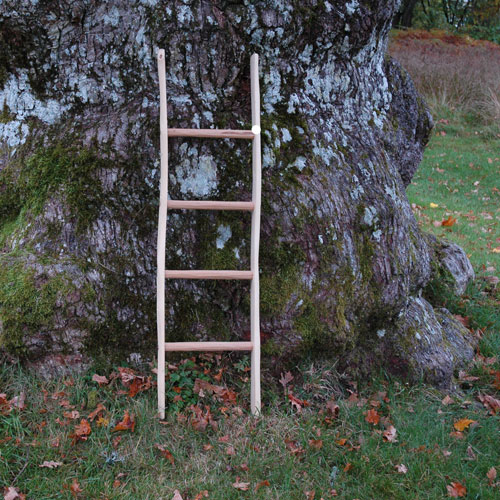 stege inredning trä