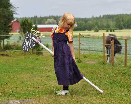 365 saker du kan slöjda #358 Gör en käpphäst
