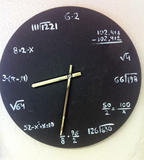 göra egna klockor