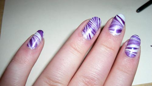 mönster till naglar